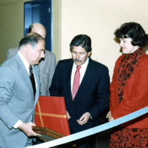 Opening ceremony for AIDS Ward in 1981